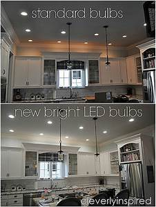 How to do recessed lighting in kitchen : Brightest recessed lighting for kitchen cleverly inspired