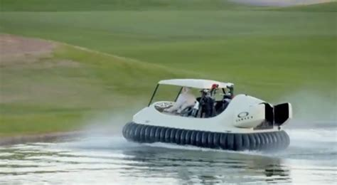 bubbas hover  golf cart hovercraft video total pro