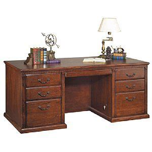 what is a double pedestal desk huntington oxford executive double pedestal desk