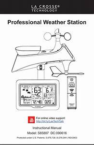 La Crosse Technology S85807 Professional Weather Station