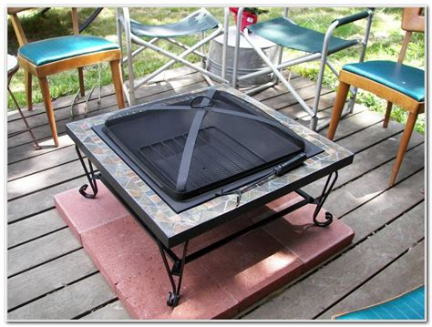 Wood Deck Fire Pit Ideas