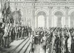 German Unification The Proclamation Of The German Empire In The Hall Of