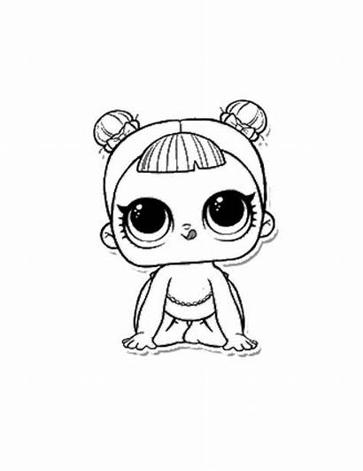 Lol Coloring Pages Doll Surprise Dolls Printable