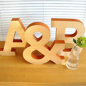 large decorative wooden letter sculpture by designed With giant decorative letters
