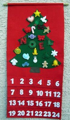christmas advent calendar  idea door