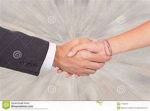 Two Business Person Shaking Hands On A Deal Royalty Free ...