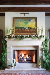 Christmas, Mantel, Decorating, Ideas