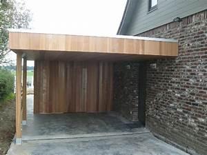 monter un garage en bois 10 carports daniel decadt With monter un garage en bois