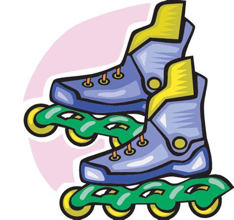 Skates Illustration - Inline Skates Clip Art