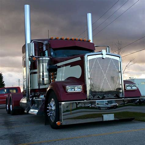 kenworth shop kenworth big rig chrome shop semi truck chrome shop