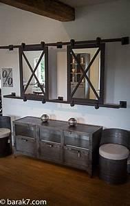 Grand Miroir Industriel : 25 best ideas about industrial mirrors on pinterest ~ Melissatoandfro.com Idées de Décoration