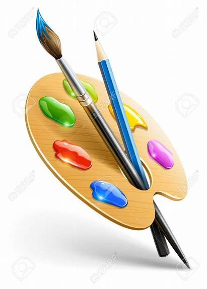 Brush Paint Drawing Clipart Painting Tool Watercolor
