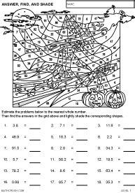 holiday math worksheets  math crush