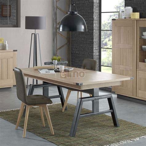 table ronde cuisine pied central table rectangulaire de salle à manger plateau chêne massif
