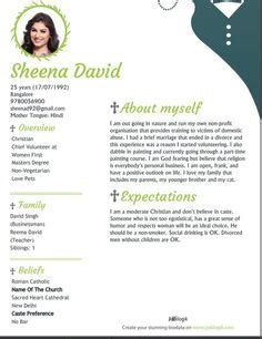 Marriage Resume Creator by 26 Best Biodata For Marriage Sles Images Bio Data For