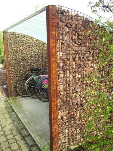 23 Attractive and Practical Gabion Ideas To Enhance