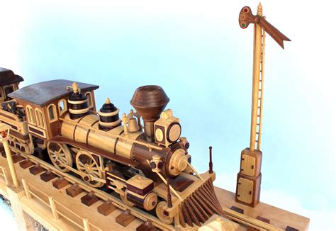 iron horse train   cars  woodworking plan