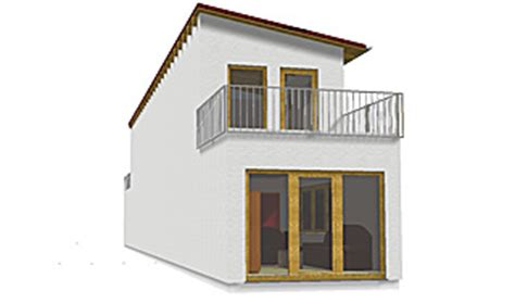 bungalow  variante  gr turm sehr schmaler grundriss