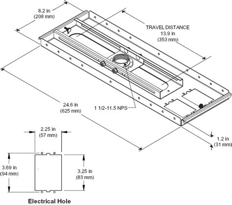5kg Wire Diagram by Peerless Cmj500 Lightweight Adjustable Cmj 500 Suspended