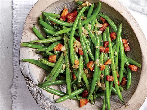 haricot verts green bean recipes cooking light