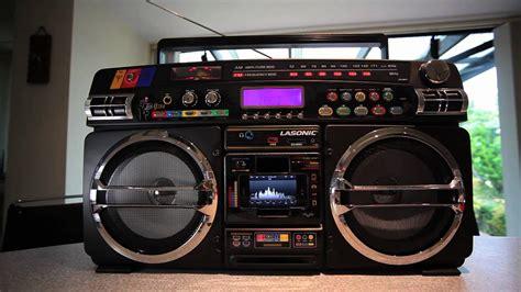 Lasonic I-931x Ghetto Blaster