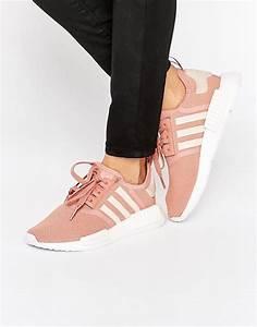 Adidas Adidas Originals NMD Rosa Sneaker Mit