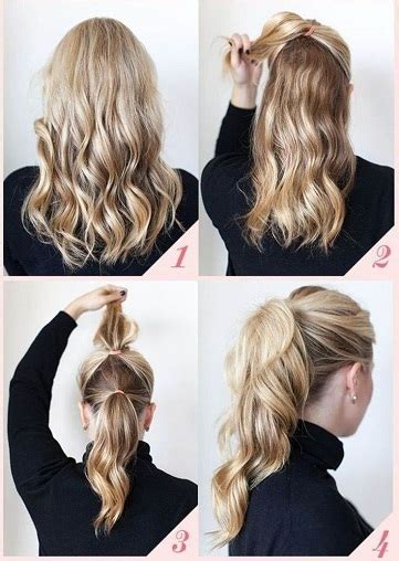 Easy Everyday Hairstyles by Top 17 Casual Hairstyles For Everyday Styles At
