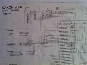 Sell Saxon Wiring Diagram In Pdf Format Motorcycle In