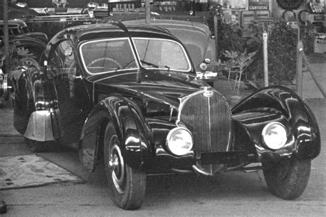 The bugatti type 57 and later variants (including the famous atlantic and atalante) was an entirely new design created by jean bugatti, son of founder ettore. Supercars Gallery: Bugatti La Voiture Noire Vintage
