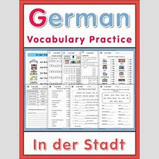 Germanenglish Crossword Puzzles Tiereanimals  To Be, English And Animals
