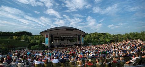 outdoor concert venues  michigan  michigan