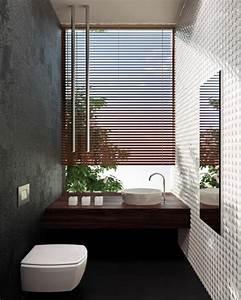 Store Salle De Bain : comment cr er une salle de bain zen ~ Edinachiropracticcenter.com Idées de Décoration