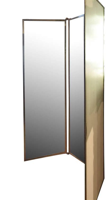floor mirror marshalls tri fold dressing room mirror at 1stdibs