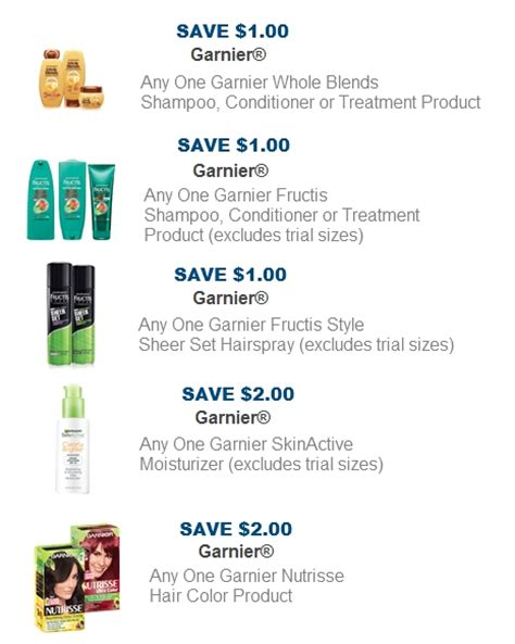 garnier coupons coupon network