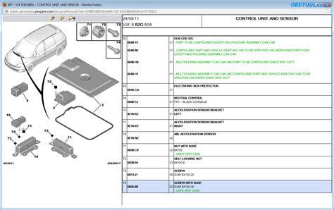 Read Peugeot Wiring Diagrams With Service Box