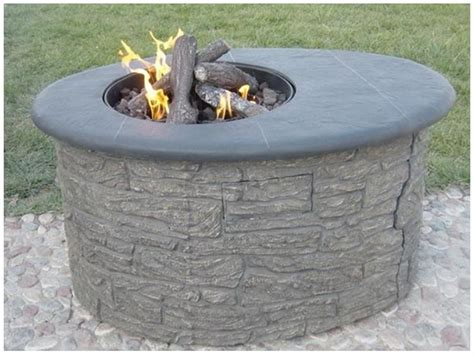 build a propane pit diy pit propane fireplace design ideas