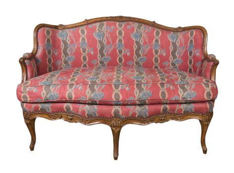 canapé style ancien canapé louis xv estillé reuze xviiie siècle n 56553