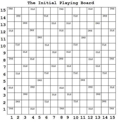 Scrabble Board Printable,scrabble Board点力图库