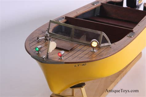 Battery Powered Boat by Fleet Line Battery Op 50 S Boat Usa Antique Toys For Sale