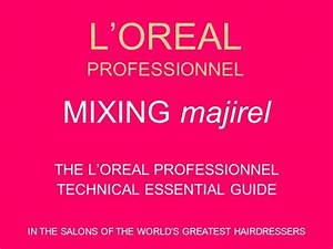 Loreal Majicontrast Colour Chart Complete L 39 Oreal Colours Authorstream