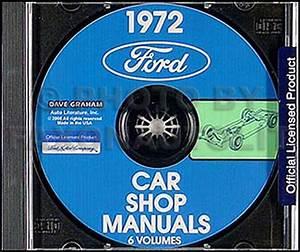 1972 Ford Torino Ranchero Montego Wiring Diagram Original