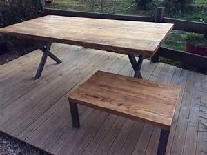 Table En Acier : designbois ~ Teatrodelosmanantiales.com Idées de Décoration