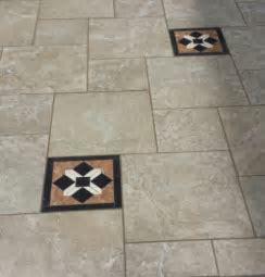 Tile Patterns with Decorative Pieces