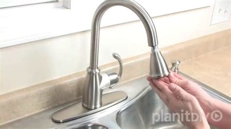 To Replace A Moen Kitchen Faucet by Retractable Kitchen Faucet Leaking Wow