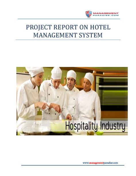 Project Report On Hotel Management System Authorstream