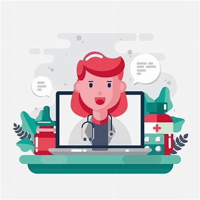 Vector Healthcare Character Clipart Clinic Medical Characters
