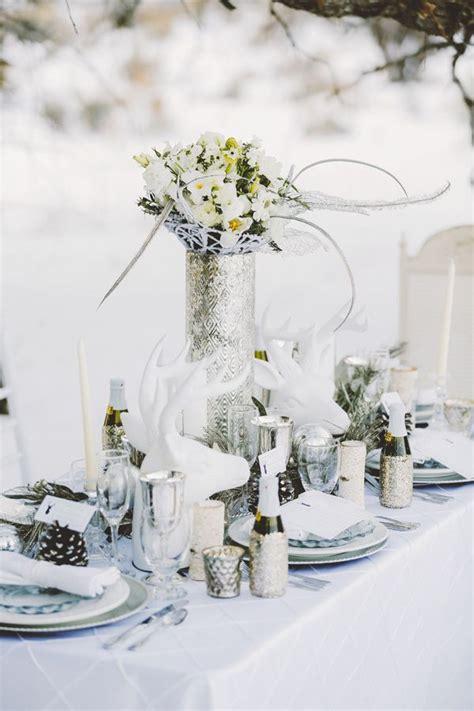 top  tablescape ideas  winter wedding