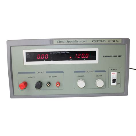 Heavy Duty Regulated Linear Bench Power Supply