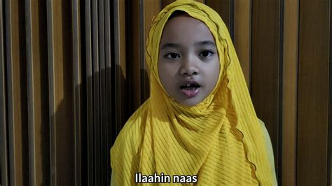 Surah Annas By Marsya - YouTube
