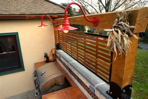 outdoor kitchen lights exterior lighting chases away autumn shadows adds appeal 1305